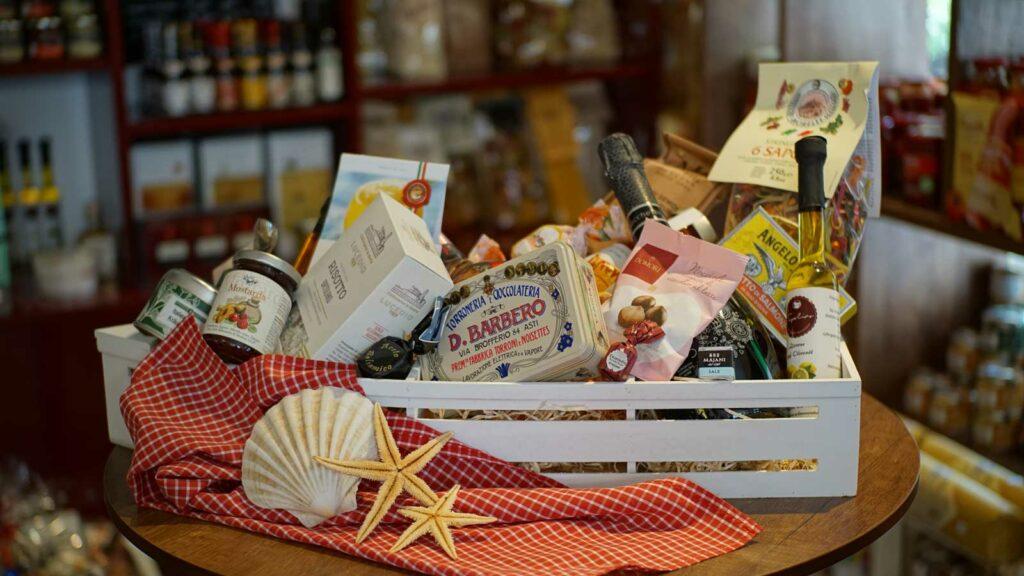 Geschenkkorb Topolino Schwanenstadt italienische Spezialitäten